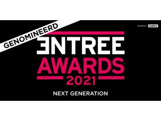 Nominatie Entree Awards 2021